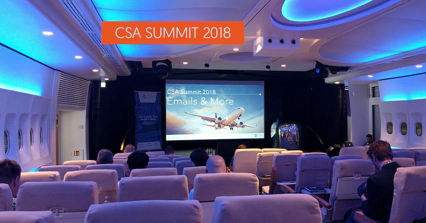 Bilan du CSA Summit 2018 : que devez-vous retenir ?