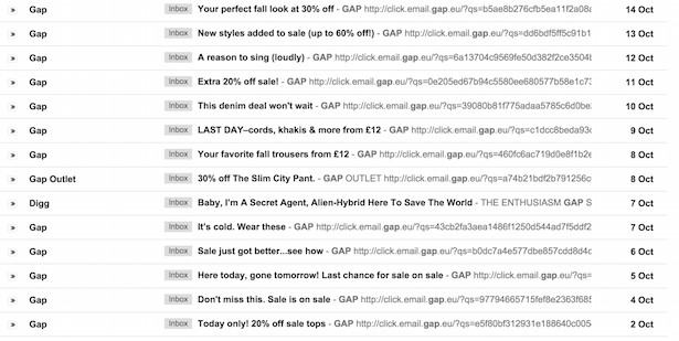 Exemple GAP
