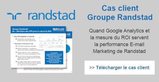 Cas client Randstad : quand Google Analytics sert la performance e-mail marketing