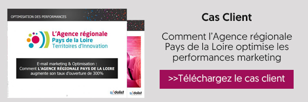Cas client Agence Régionale Pays de la Loire