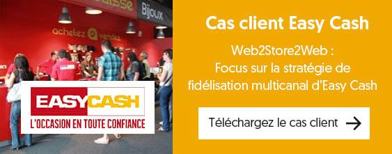 Retail & fidélisation : découvrez le cas client Easy Cash