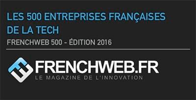 Dolist atteint la 165è place du classement Frenchweb 500