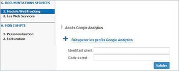 Dolist-V8 : mise à jour de la synchronisation avec Google Analytics