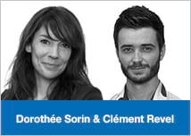 Dorothée Sorin et Clément Revel Dolist