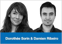 Dorothée Sorin et Damien Ribeiro Dolist