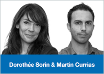 Dorothée Sorin et Martin Currias Dolist
