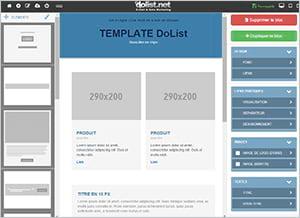 Votre nouvel éditeur de templates responsive arrive !