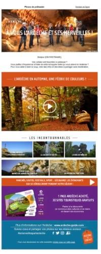 Email Trigger ADT Ardèche
