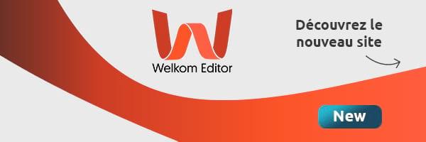 Actualité | Le site Welkom Editor s'est refait une beauté !