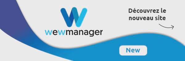Actualité | Le produit wewmanager révèle son nouveau site !