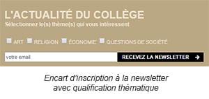 as Client Collège des Bernardins : Quand la connaissance client devient moteur de performance marketing