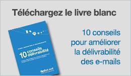 Livre blanc 10 conseils délivrabilité