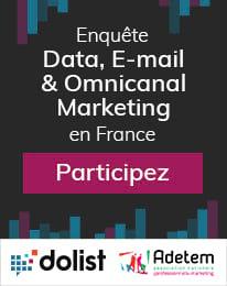 Baromètre Data, e-mail & omnicanal Marketing en France : Participez à l'enquête