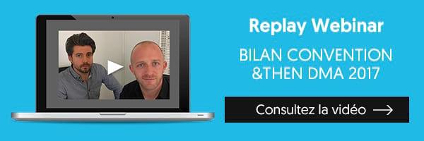 Replay Webinar Bilan convention DMA 2017