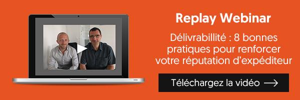 Replay webinar | Délivrabilité : 8 bonnes pratiques