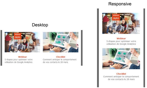 Utilisez le Responsive design pour améliorer la réactivité de vos messages