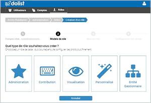 Nouvelle gestion des droits utilisateurs sur la plateforme Dolist-V8