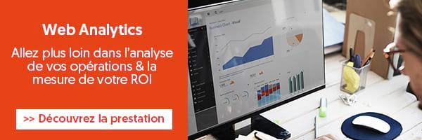 Prestation Web Analytics