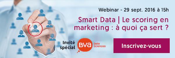 Participez au webinar Scoring et Smart Data