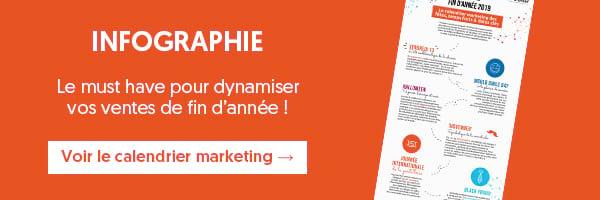 Infographie | Calendrier marketing : le must have pour dynamiser vos ventes de fin d'année !