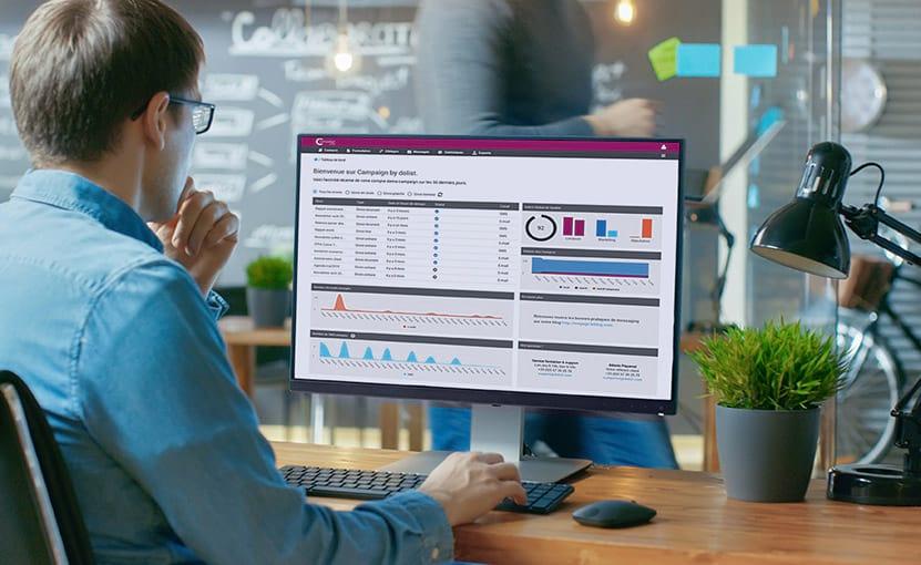 Nuestras tecnologías de Marketing de datos, correo electrónico y SMS