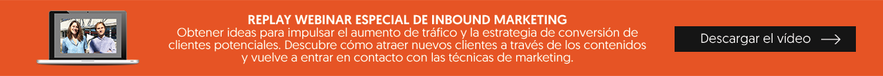 webinar especial Inbound Marketing