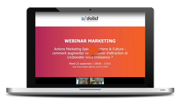 Webinar Actions Marketing Spécial Tourisme & Culture