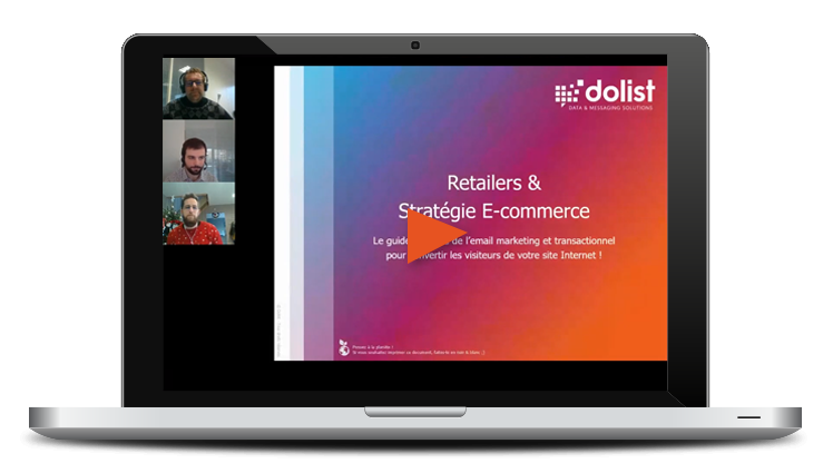 Webinar Marketing | Retail & E-commerce : comment optimiser vos ventes en ligne avec l'email marketing et transactionnel ?