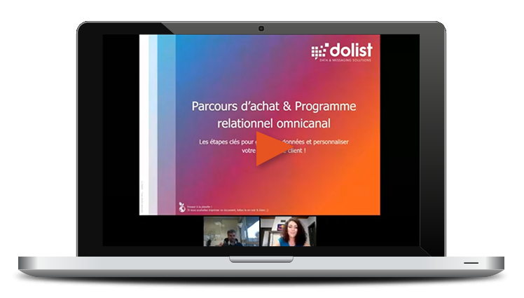 Webinar Marketing Parcours d'achat & Programme relationnel omnicanal