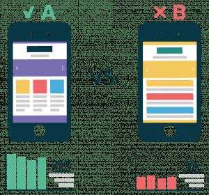 Exemple de test A/B Openclassrooms
