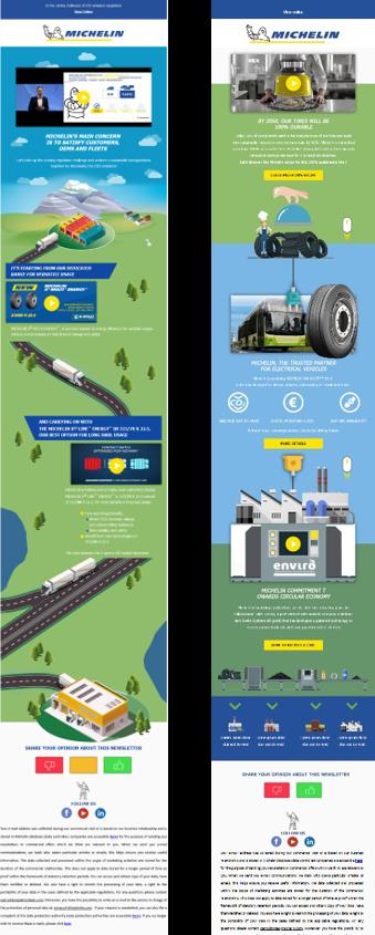 Michelin : gamification et Green qualité
