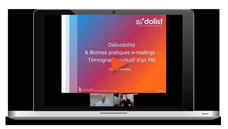 Webinar Délivrabilité Email & Témoignage FAI